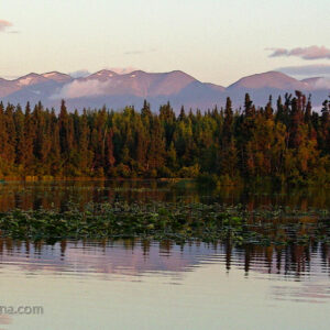 Dusk at Peterson Lake - Alaska